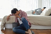 남성, 스트레스, 쿠바드증후군, 임신 (물체묘사), 입덧, 구역질 (질병)