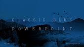 파워포인트, 메인페이지, 백그라운드, 클래식블루, 트렌드, 파랑색, 풍경