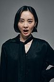 한국인, 짜증 (컨셉), 불만 (컨셉), 스트레스 (컨셉), 불쾌함 (어두운표정)