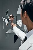 한국인, 갈등, 내면, 대결, 감정, 감정 (All People), 얼굴표정 (커뮤니케이션컨셉), 무표정, 스트레스 (컨셉)