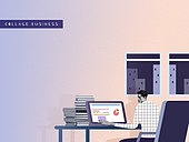 비즈니스, 직업 (역할), 콜라주 (이미지테크닉), 비즈니스맨, 야간근무 (고용문제)