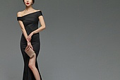 드레스, 여성, 파우치 (인조물건), 액세서리 (인조물건)