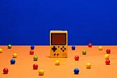 레트로스타일 (컨셉), 뉴트로, 20세기스타일 (스타일), 비디오게임 (전기용품), 사탕 (달콤한음식), 풍선껌 (사탕), 백그라운드