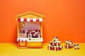 레트로스타일 (컨셉), 뉴트로, 20세기스타일 (스타일), 선물상자 (상자), 장난감