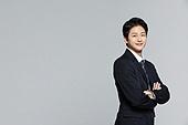 한국인, 선거, 투표 (선거), 국회의원선거, 비즈니스맨, 화이트칼라 (전문직), 신입사원, 팔짱[혼자] (몸의 자세), 자신감