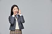 한국인, 선거, 고등학생, 십대 (나이), 교복, 말하기 (커뮤니케이션컨셉), 교육 (주제), 학생