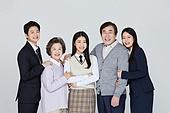 한국인, 선거, 투표 (선거), 함께함 (컨셉), 협력 (컨셉), 가족, 세대차이 (나이차이)