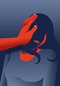 두려움, 여성 (성별), 공포 (어두운표정), 폭력, 가정폭력, 성폭력, 데이트폭력