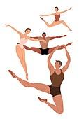 점프, 희망 (컨셉), 활력 (컨셉), 춤 (물리적활동), 춤, 발레 (춤)