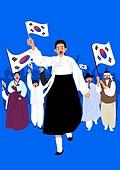 3.1운동 (세계역사사건), 독립운동가, 태극기, 광복절 (한국기념일), 유관순, 유관순 (유명인), 군중