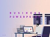 파워포인트, 메인페이지, 비즈니스, 직업 (역할), 콜라주 (이미지테크닉), 비즈니스맨