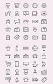 벡터 (일러스트), 아이콘, 아이콘세트 (아이콘), 라인아이콘, 쇼핑, 이벤트, 세일, 할인, 결제, 구매, 쇼핑몰, 상품, 라벨, 팝업