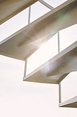 빔 (상태), 빛 (자연현상), 백그라운드, 햇빛, 인테리어, 실외, 야외계단 (계단), 계단, 지붕 (건물특징)