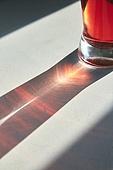 빔, 빛 (자연현상), 백그라운드, 햇빛, 사람없음, 인테리어, 주스 (차가운음료), 빨강 (색)