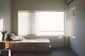 실내, 빔 (상태), 빛 (자연현상), 백그라운드, 햇빛, 인테리어, 집, 거실, 식물, 협탁, 서랍장 (가구), 침대, 소파, 가구, 창문, 커튼 (데코르)