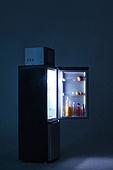 냉장고, 주방 (건설물), 음료