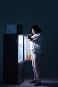 군것질, 야식, 냉장고, 갈등, 선택장애, 다이어트