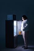 군것질, 야식, 비만, 비만 (건장한체격), 군것질 (Food And Drink), 냉장고, 갈등, 냉장고 (주방가전제품), 다이어트