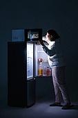 군것질, 야식, 먹기, 과식 (먹기), 폭식증 (섭식장애), 전자레인지, 음식준비 (움직이는활동)