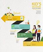 그래픽이미지, 편집디자인, 교육 (주제), 공부 (움직이는활동), 공부, 어린이 (나이), 프로세스 (컨셉), 창의성 (컨셉), 소년, 소녀, 학습지