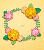 종이 (재료), 페이퍼아트, 봄, 꽃, 프레임