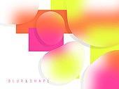 백그라운드, 보케 (포커스), 블러, 도형, 그라데이션, 개성 (컨셉), 컬러풀 (색)