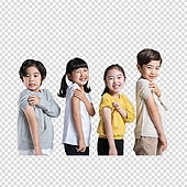 그래픽이미지, PNG, 누끼 (누끼), 어린이 (나이), 주사, 바이러스, 면역력 (의학), 예방접종 (주사)