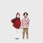 그래픽이미지, PNG, 누끼 (누끼), 초등학생, 겨울, 상업이벤트 (사건), 친구, 따뜻한옷 (옷)