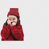 그래픽이미지, PNG, 누끼 (누끼), 초등학생, 겨울, 상업이벤트 (사건), 따뜻한옷 (옷), 소녀