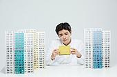 부동산, 주택문제, 청약, 아파트, 아파트 (주거건물), 은행통장 (은행서류), 이사 (재배치)