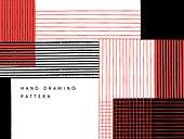 패턴, 핸드드로잉, 백그라운드, 점선 (묘사), 직사각형 (다각형), 격자무늬 (패턴)
