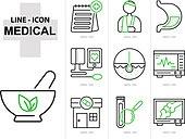 아이콘, 병원 (의료시설), 벡터, 질병, 보험, 의사