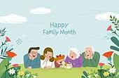 연례행사 (사건), 5월, 가정의달, 가족, 어버이날 (홀리데이), 카네이션, 대가족 (가족)