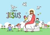 기독교, 예수 그리스도 (Christianity), 종교, 어린이 (나이), 성경학교