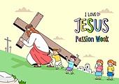 기독교, 예수 그리스도 (Christianity), 종교, 어린이 (나이), 성경학교, 십자가
