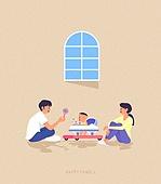 사람, 가족, 라이프스타일, 라이프스타일 (주제), 함께함 (컨셉), 부부, 커플