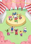 축제 (엔터테인먼트), 음악축제 (엔터테인먼트이벤트), 봄, 풍경 (컨셉), 사람, 음악가 (엔터테인먼트직업), 벚나무 (과수)