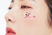 의료성형뷰티, 한국인, 얼굴 (사람머리), 클로즈업, 뷰티, 아름다움, 미녀, 사람피부, 헤어스타일, 프레시, 순수, 색조화장, 포즈 (몸의 자세)