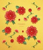 페이퍼아트, 종이, 5월, 가정의달 (홀리데이), 어버이날 (홀리데이), 카네이션, 카네이션 (패랭이꽃)
