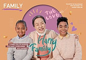 그래픽이미지, 가족, 가정의달, 5월, 다문화가족 (가족), 할머니 (조부모)