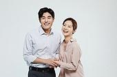 여성, 미소, 커플, 가정경제 (금융), 행복, 부부