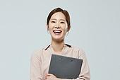 여성, 미소, 밝은표정, 만족, 비즈니스우먼