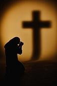 종교, 기독교, 기도 (커뮤니케이션컨셉), 찬양, 감사, 감사기도, 평화, 성경말씀 (기독교용어), 회개, 성경 (성서), 천주교, 십자가, 여성 (성별), 실루엣, 그림자