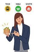 집, 집 (주거건물), 주거지역 (구역), 주택, 대출, 전세