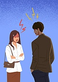 커플, 커플 (인간관계), 싸움 (물리적활동), 갈등