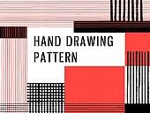 파워포인트, 메인페이지, 패턴, 핸드드로잉, 점선 (묘사), 직사각형 (다각형), 검정색, 빨강색