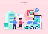 쇼핑 (상업활동), 비대면 (사회이슈), 소비, 카셰어링 (공유경제), 자동차, 모바일앱 (인터넷), 스마트폰