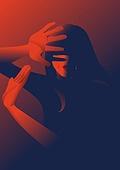 디지털성범죄, 착취, 범죄 (사회이슈), 불법촬영, 불법촬영 (사진촬영), 성폭력 (성적학대), 여성, 스트레스 (컨셉), 폭력
