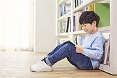 어린이 (나이), 독서, 소년