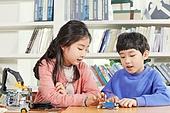어린이 (나이), 교실, 초등학생, 코딩교육, 학교생활